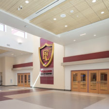 Faith Lutheran School Expansion included gym and biology lab