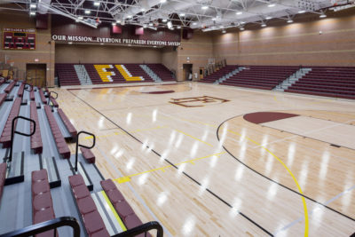Faith Lutheran High School gym