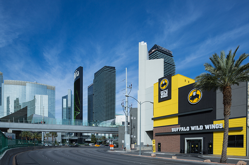 Buffalo Wild Wings on The Las Vegas Strip