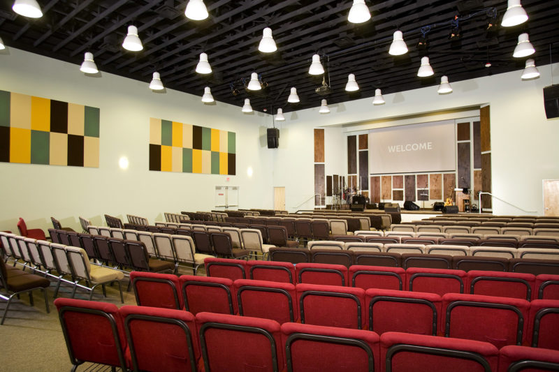 Life Baptist Church Interior