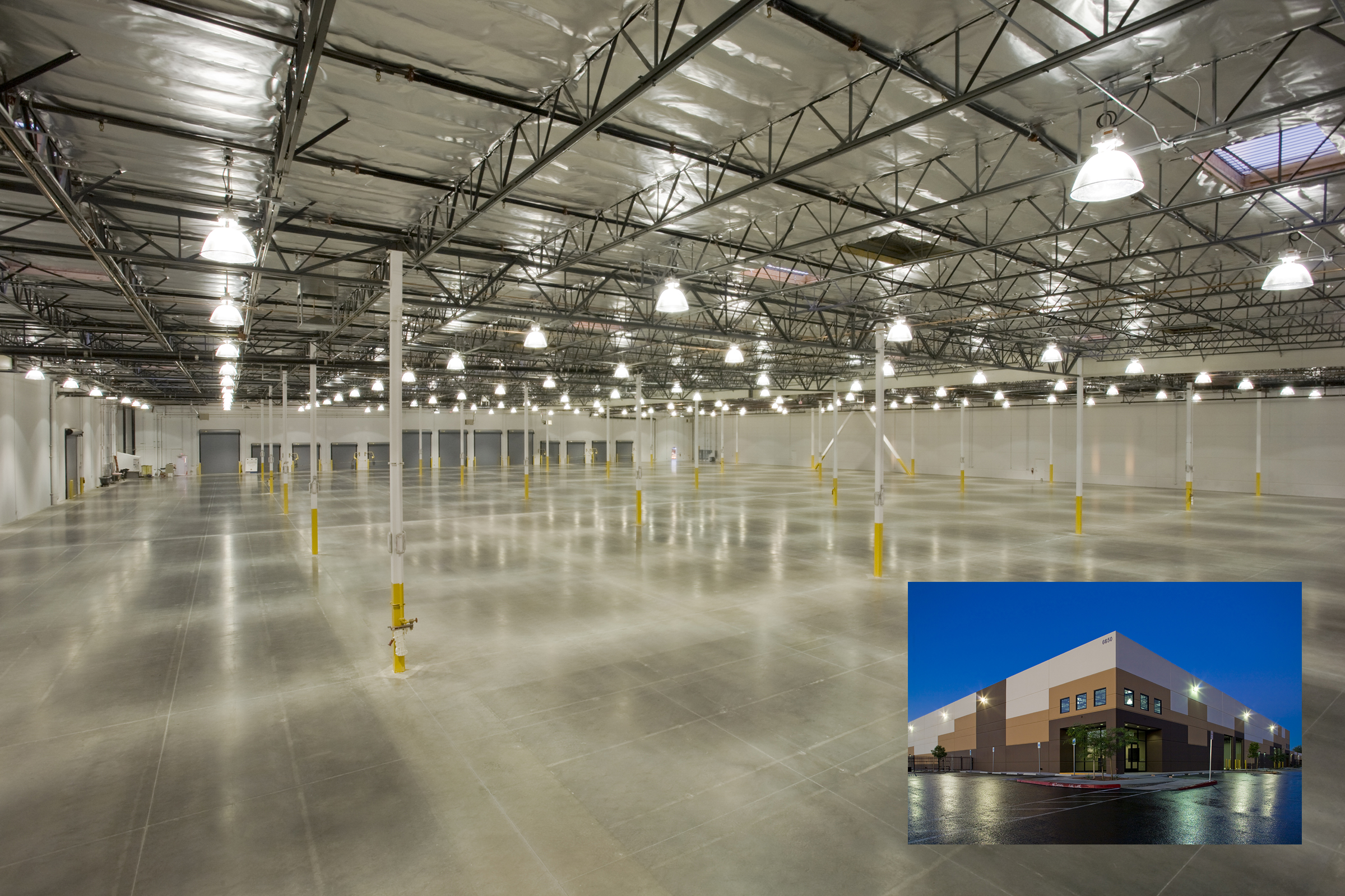 Spencer Street Distribution Center Tilt Up