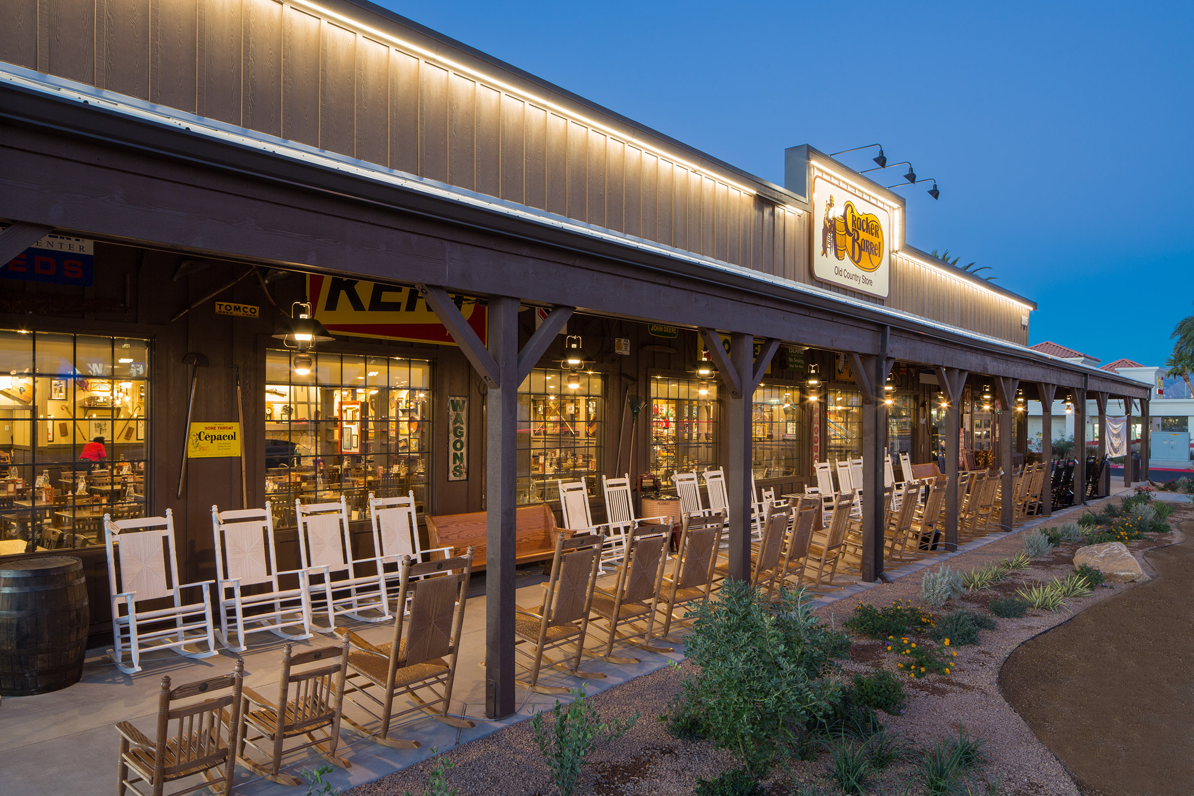 Cracker Barrel Ground Up in NLV