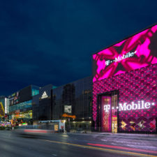 T-Mobile Signature Store on the Las Vegas Strip