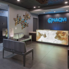 Naqvi Injury Law Reception Area Expansion
