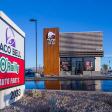Taco Bell Fremont is a ground-up restaurant located at Charleston and Eastern