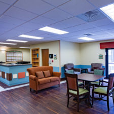 Mission Pines Nursing Center Dining and lounge