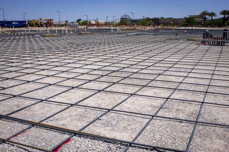 Faith Lutheran Church Form for Cement Slab